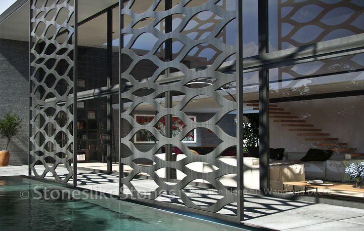 Duralmond celosia wand module die dekorative moderne for Raumgestaltung pinterest