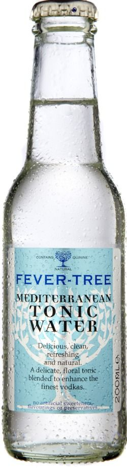 Fevertree Mediterranean Tonic Water, Flavoured Tonic Waters, Best Tonic, Vodka & Tonic, Gin & Tonic - want to try this