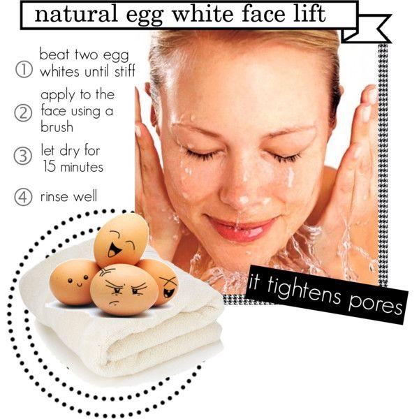 """""""egg white face mask"""" by mem626 on Polyvore"""