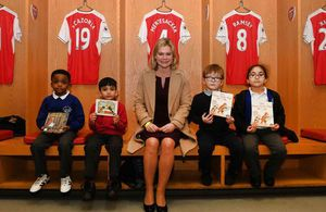 From DfE Announcements - News story: Education Secretary visit to Arsenal football club http://wp.me/p7aCDO-dkc