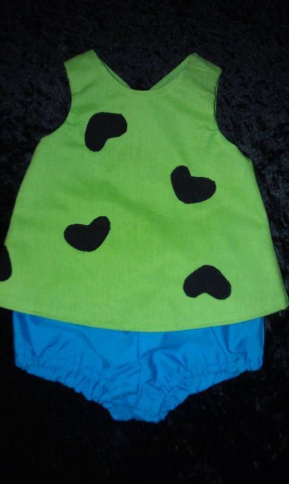 Flintsones Pebbles Costume by AshleySmashleys on Etsy, $34.98