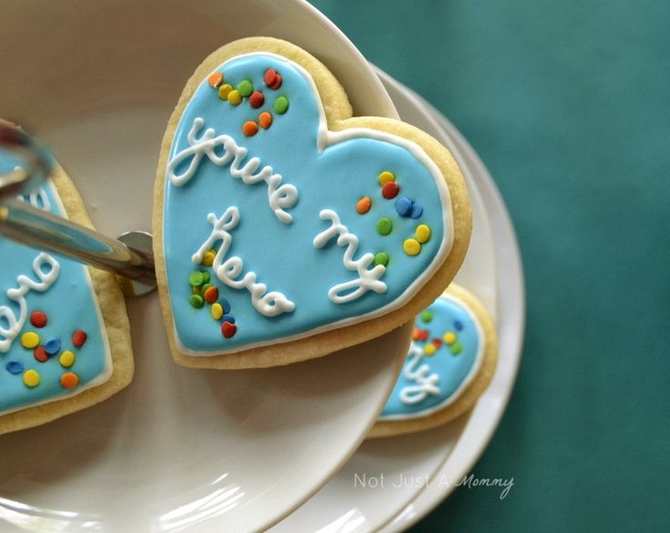 wreck it ralph birthday party - You're my hero cookie