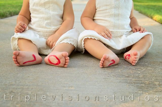 Twins <3 LO/VE one year shoot