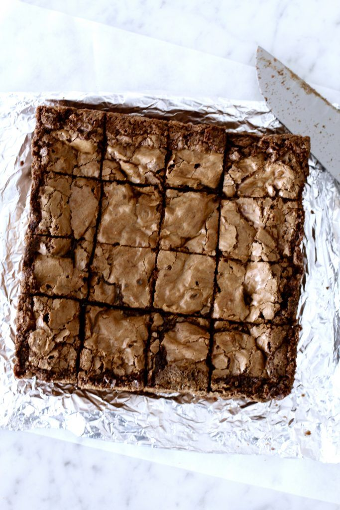 Williams Sonoma Triple Chocolate Brownies are my favorite for mailing long distances! They hold up for at least 10 days and tastes fresh. Read the post for tips on mailing treats!