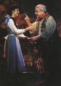Susan Egan and Tom Bosley