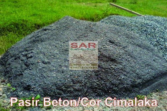 #Jual PASIR BETON / COR CIMALAKA di Bandung Info: Sumber Alam Raharja ✆/WA: 0889 101 2858 http://www.sumberalamraharja.com/2016/04/jual-pasir-betoncor-cimalaka-di-bandung.html