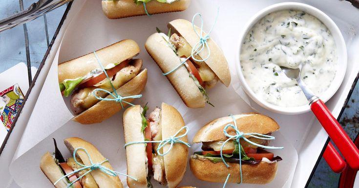 Portuguese Chicken Sliders Recipe