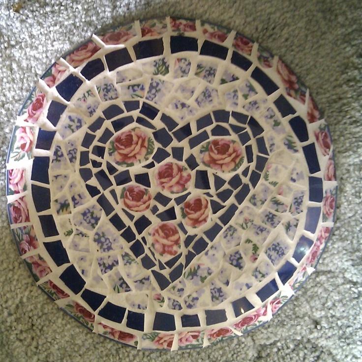 Heart Mosaic Wall Hanging