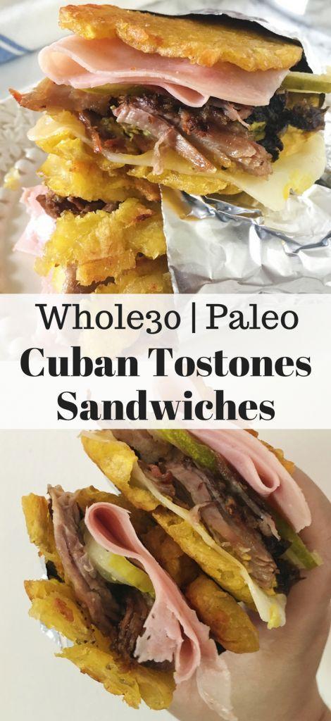 Cuban Tostones Sandwiches
