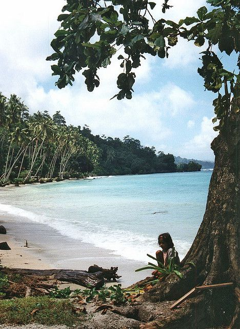 Saparua, één van de Molukse eilanden.