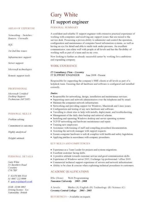 professional resume word engineering with logo - Google Search - documentum administrator sample resume