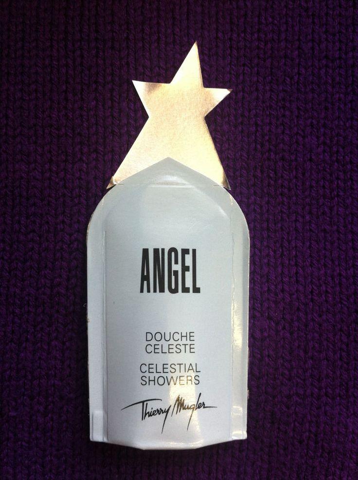 Thierry Mugler ANGEL Celestial Shower Gel. Convenient 10ml Travel size.