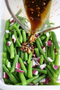 Easy green bean recipes balsamic
