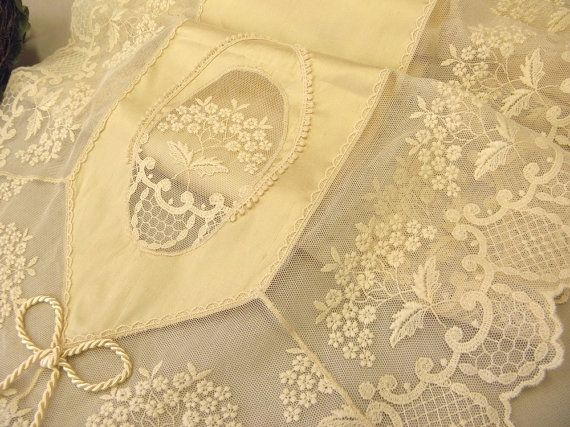 Ecru silk table runner high-end wonderful by ClassyInteriorsDeco