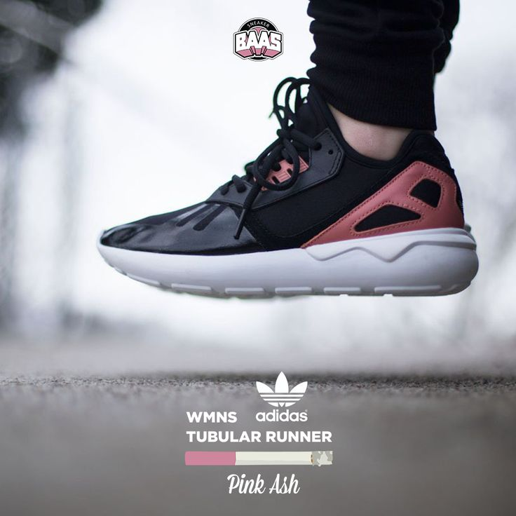 """#adidas #adidaswomans #tubular #runner #sneakerbaas #baasbovenbaas  Adidas WMNS Tubular Runner """"Pink Ash"""" Now available online, priced at €119,99  For more info about your order please send an e-mail to webshop #sneakerbaas.com!"""