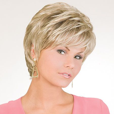Always Perfect Wig - This is the way you've always wanted your hair to look. Soft, natural, perfect. . . all day long. Find this style & more @ thewigcompany.com