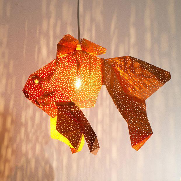 Peixes, águas-vivas, tartarugas: as luminárias originais da VasiliLights são inspiradas na vida aquática dos mares holandeses, diretamente para a sua casa!
