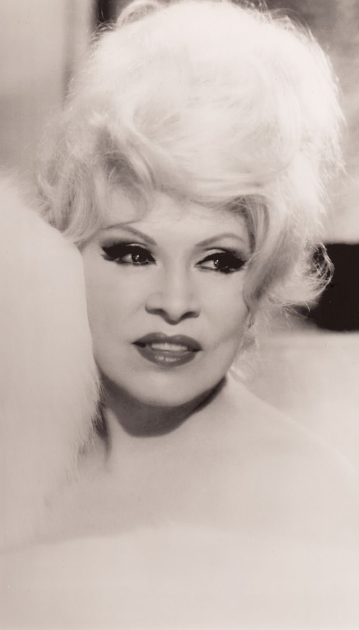 MAE WEST the legendary actress who made her first movie at 40, saved Paramount after a string of risque comedies in the early 1930's. Seen here in 1967 at 74. Portrait photo. (minkshmink)