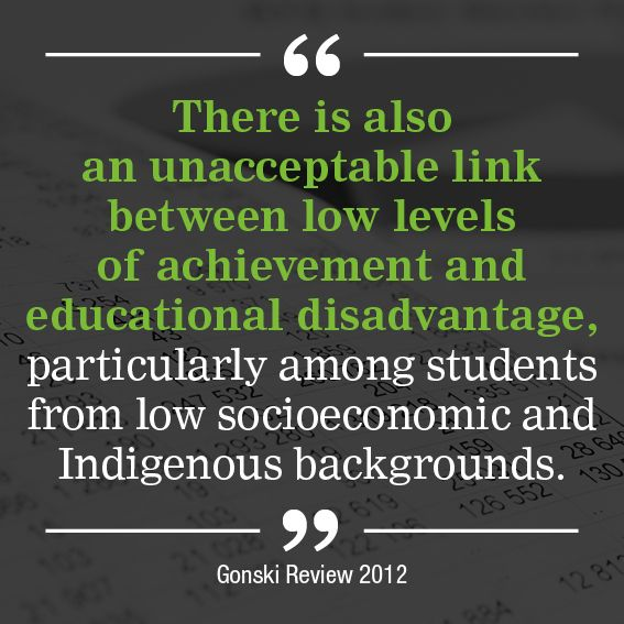 A government without responsibility for government schools? - I give a Gonski