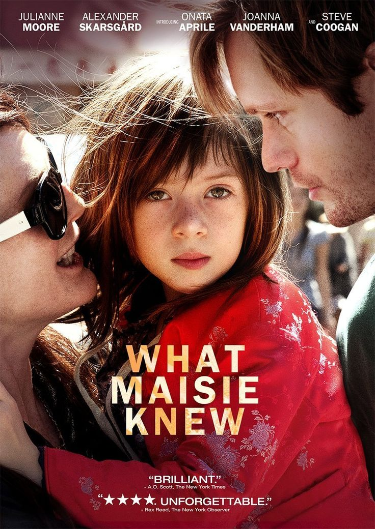 New arrival: What Maisie Knew  Great, great film.