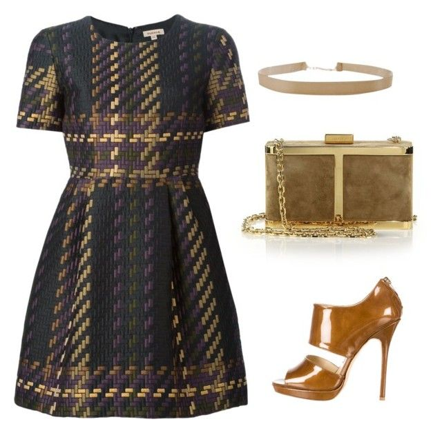 """""""Untitled #552"""" by mchlap on Polyvore featuring P.A.R.O.S.H., Jimmy Choo, Maiyet and Humble Chic"""