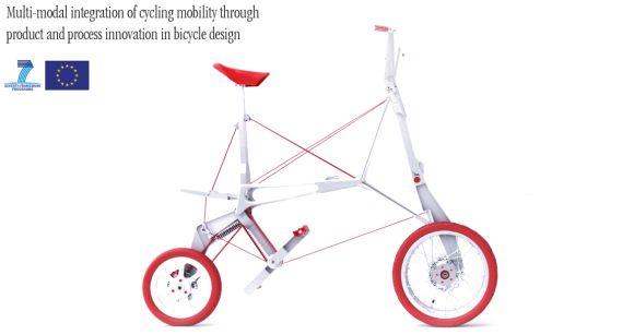 Bike Intermodal: http://www.mondoallarovescia.com/bike-intermodal-la-bicicletta-pieghevole-piu-compatta-del-mondo/  La bicicletta pieghevole più compatta del mondo