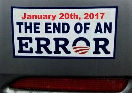 End of an Error - January 20, 2017
