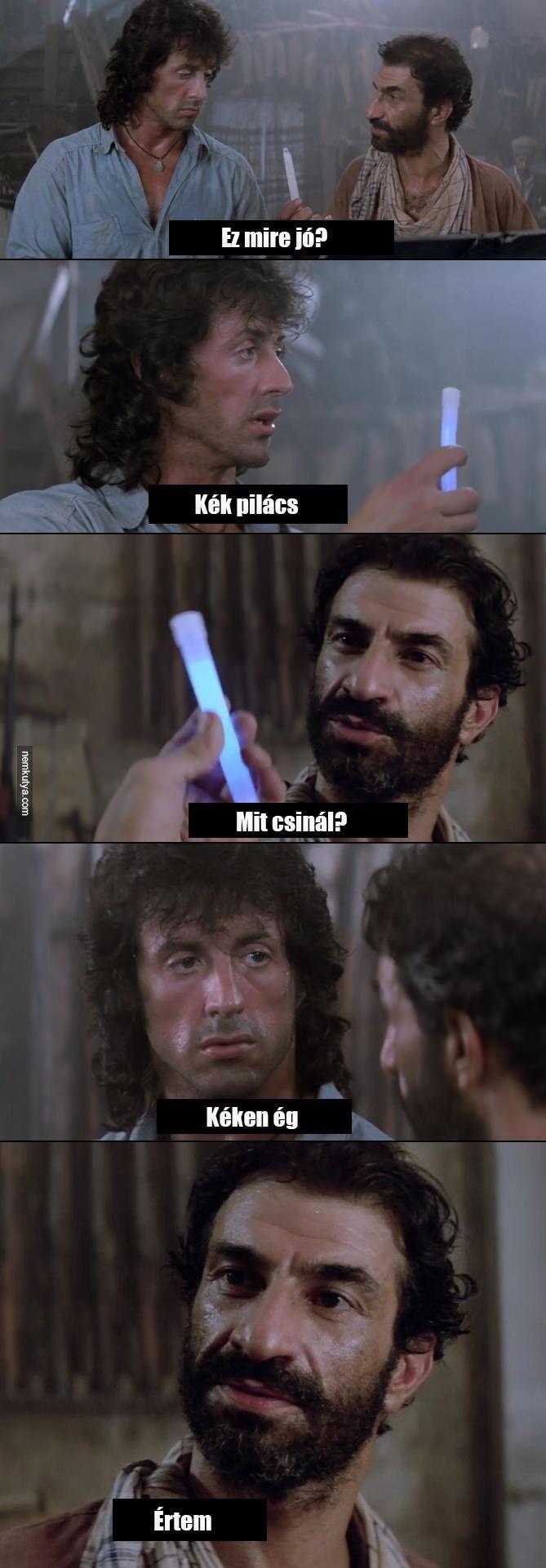 Nemkutya.com - A kedvenc Rambo jelenetem