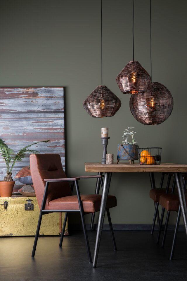 Dutchbone Lampa Wisząca Cooper Duża 5300045 : Lampy wiszące metalowe : Sklep internetowy Elektromag Lighting #copper #lamp