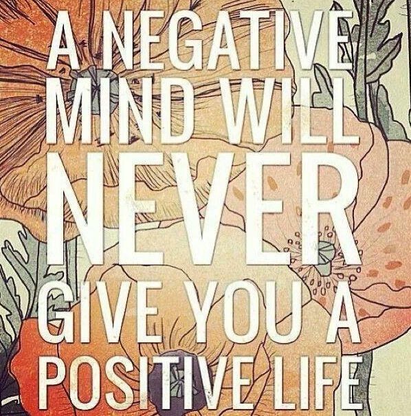 HFC Daily Affirmation - All my actions, words and thoughts are positive.  www.hungryforchange.tv
