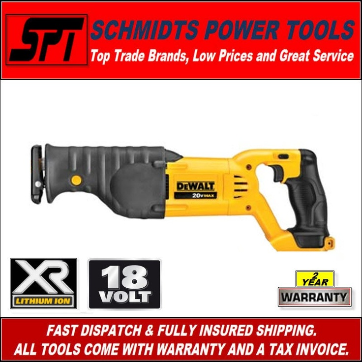 The dewalt 20V max reciprocating saw cuts virtually anything, timber metal and plastic and is great for demolition and renovation work.