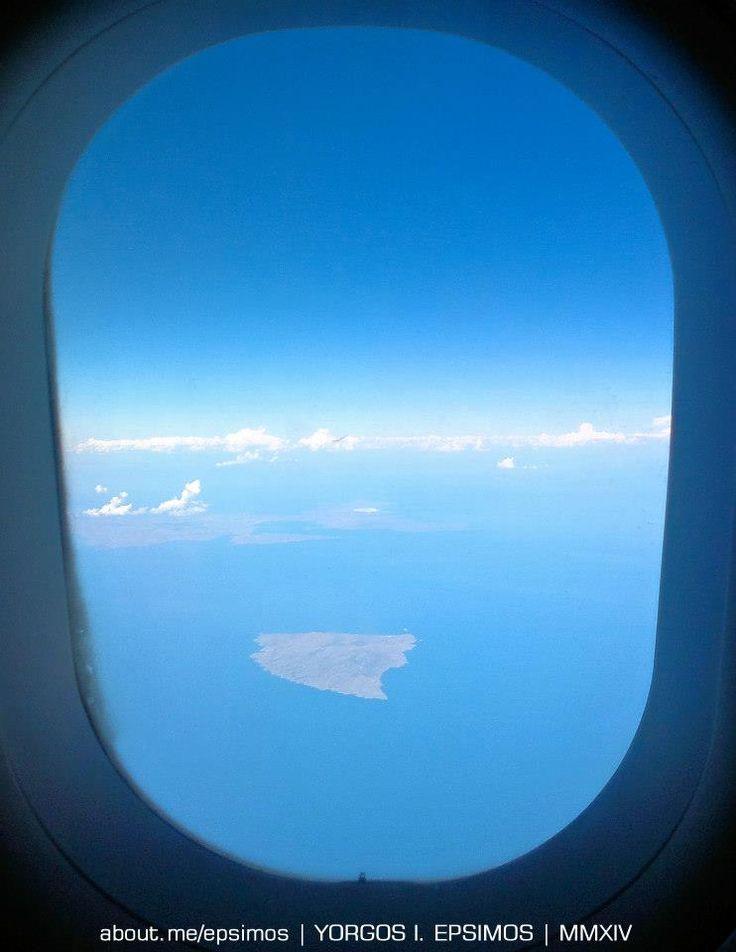 #Agios #Efstratios from above. — at Agios Efstratios   www.sanstrati.sail.to www.facebook.com/Sanstrati  Sanstrati Αη Στράτης Isolario·Buondelmonti - A film about Agios Efstratios #Ai #Stratis