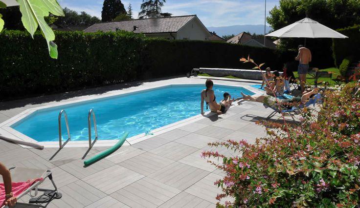 Pavimento sopraelevato in piscina #kronostecnica #pavimentiperesterni #sopraelevatopiscina