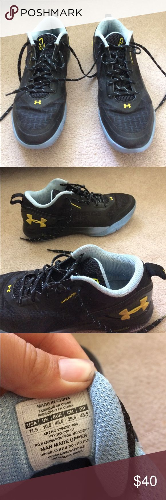 Under armor Emmanuel mudiay shoes Emmanuel Mudiay basketball shoes with little wear. Size 11.5. Under Armour Shoes Athletic Shoes