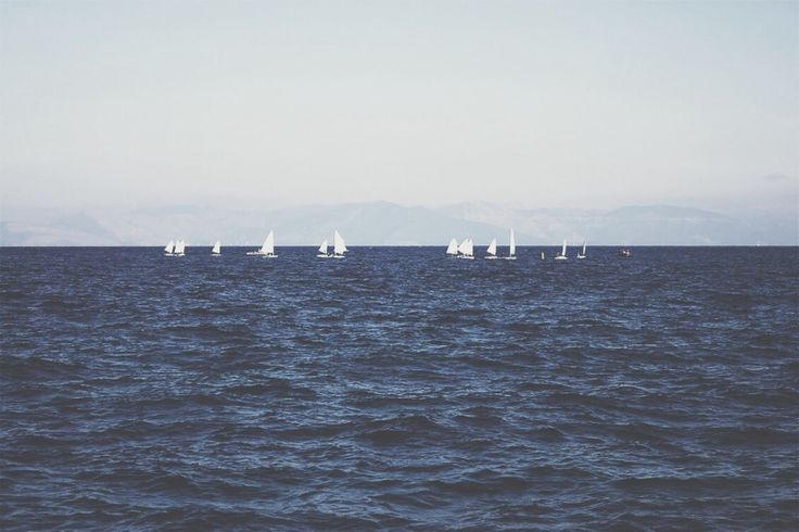 Sail away.  #sail #blue #sea #greece