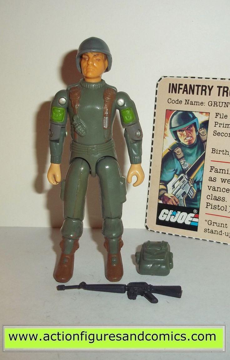 Gi joe GRUNT 1982 hasbro toys vintage action figures g050