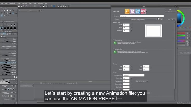 Clip Studio Paint - New Update with Animation