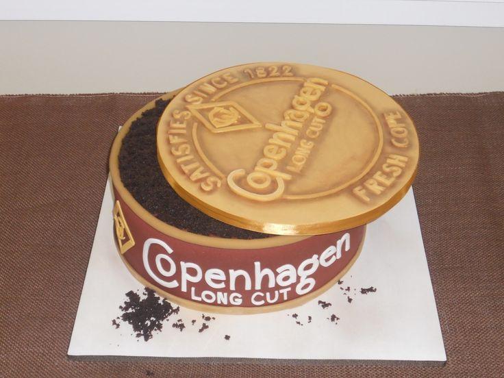 Copenhagen Groom's Cake  on Cake Central