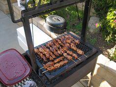 Guam Firehouse Cook: Chicken and Pork Shish Kabobs