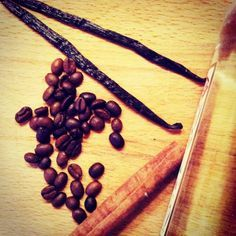 Rhum arrangé café-vanille