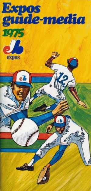 1976 montreal expos   Montreal Expos 1975 Media guide