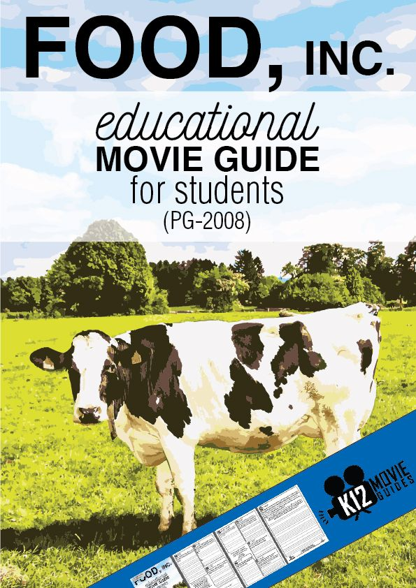 This Food, Inc. movie guide will transfer the way your students think about the food industry and give them the opportunity to create their own opinions.