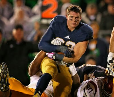 Notre Dame's Cam McDaniel is the Most Ridiculously Photogenic Player in College Football | FatManWriting