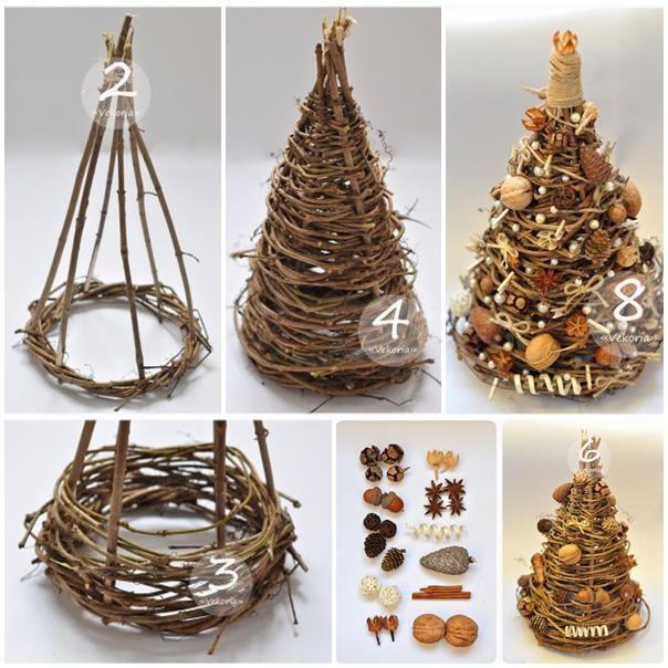 Výsledok vyhľadávania obrázkov pre dopyt prútené dekorácie na vianočné
