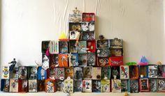 les petites têtes de l'art: Boites à histoires