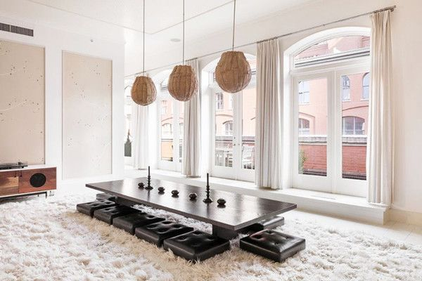 Casual Dining - Explore Gwyneth Paltrow's Goop-Worthy Tribeca Penthouse - Photos