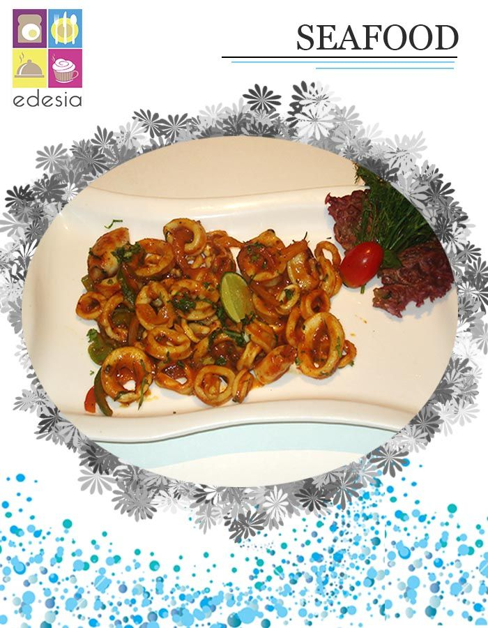 A beach holiday might not be possible but a #Seafood meal is! Head to Edesia for a plate of fresh and tender #Calamari. Also, enjoy crab cakes while sipping on your favourite mocktail for a brief escape from Monday. Call 098748 24561 for Reservations & Home Delivery.