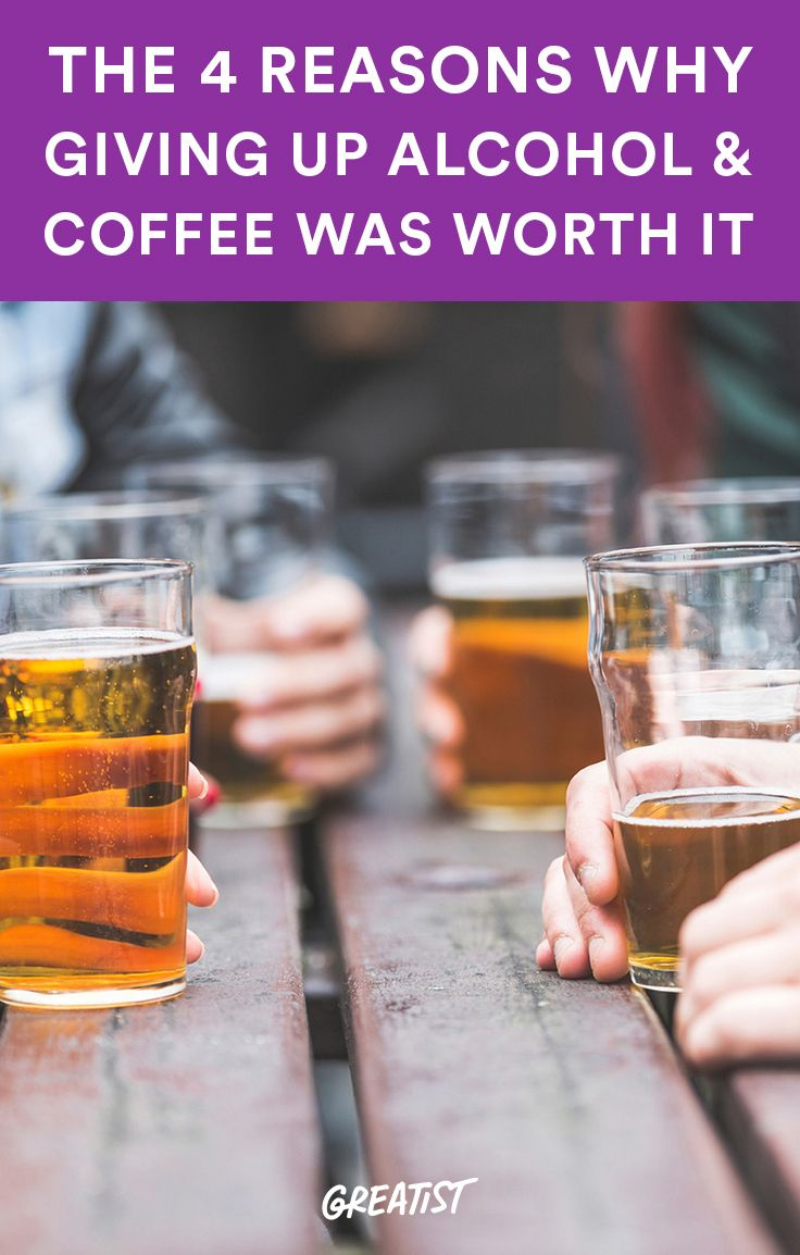 Here's what I've learned after 15 months. #alcohol http://greatist.com/connect/giving-up-alcohol-coffee-worth-it
