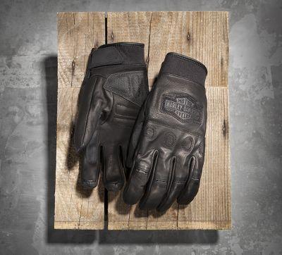 Men's Circuit Full-Finger Leather Gloves