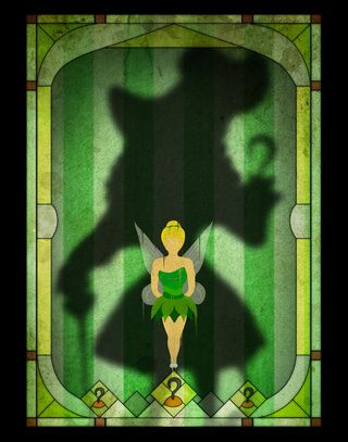 In Art Prints, Disney Villains Menace as Shadows